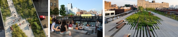 The Highline project - New York